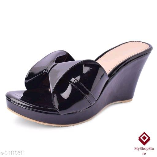 Fabulous Women Synthetic Leather Heel