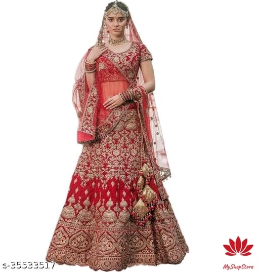 Aagyeyi Superior Women Lehenga With Net Duppatta