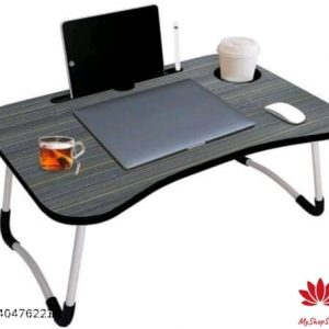 Classy Study Table Black Color Wooden