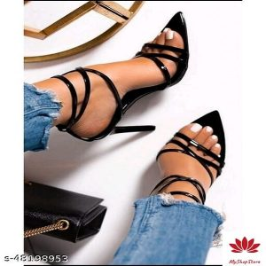 Colorful Women High Heels Synthetic Material