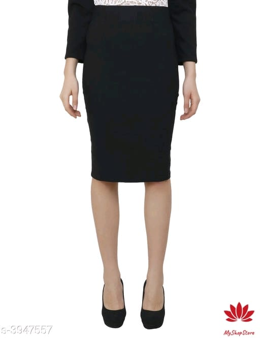 Designer Stunning Women's Cotton Lycra Skirts