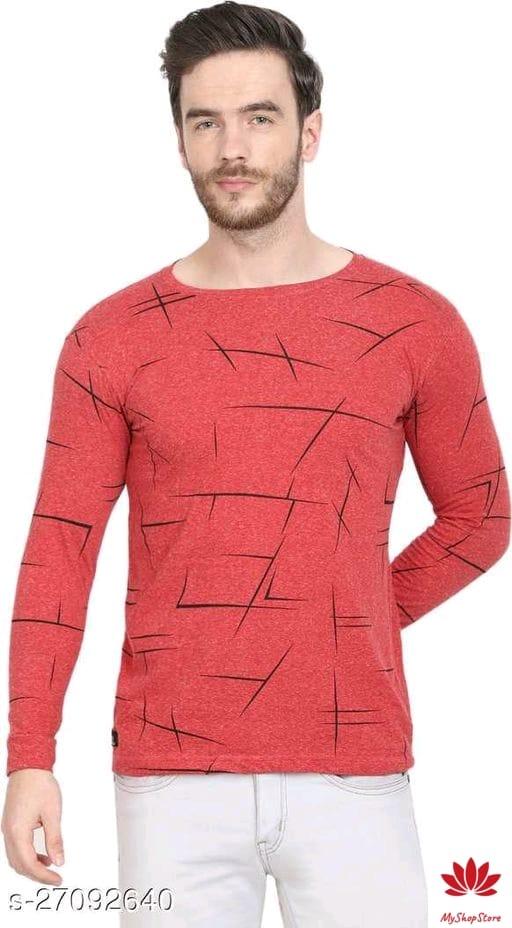 Fancy Fashionable Men Cotton Tshirts