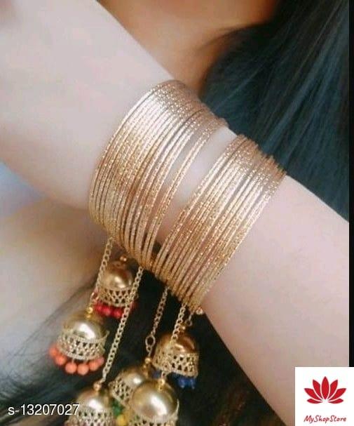 Fashionable Golden Bangle for Girls & Women