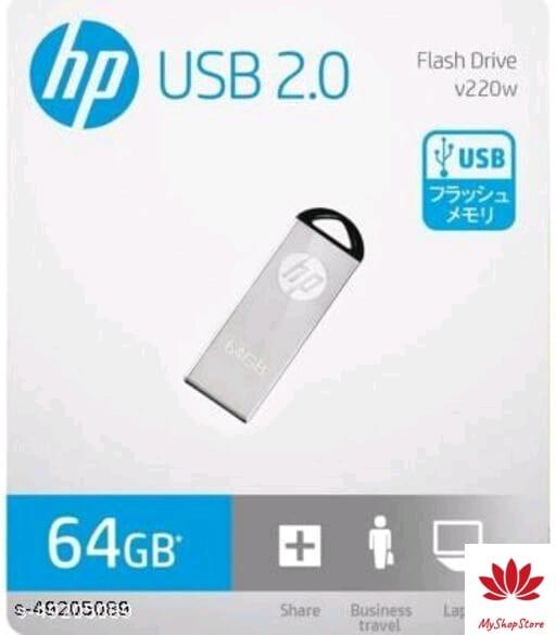 HP Pen Drive USB 2.0 Metal Material 64GB