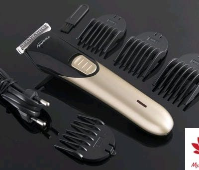 Kubra KB-2025 Rechargeable Cordless Runtime: 60 Min Trimmer for Men (Gold)