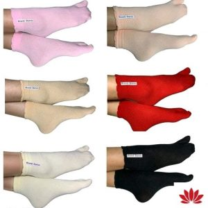 Starvis Ankle Length Nylon Socks With Thumb For Girls or Women (Pack of 6)