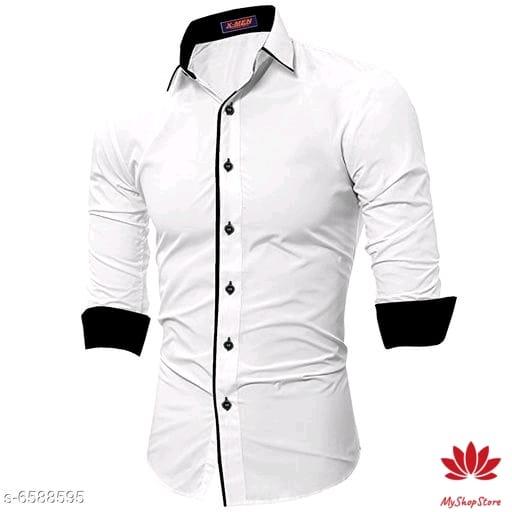 Stylish Cotton Shirt Long Sleeves For Men