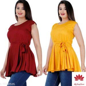 Trendy Fashionista Women Tops And Tunics
