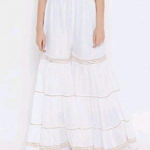 Trendy Partywear Women's Cotton Blend Sharara