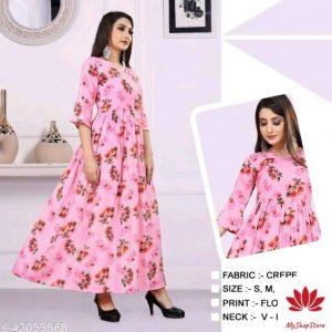 Women Trendy Designer Partywear Gown 1