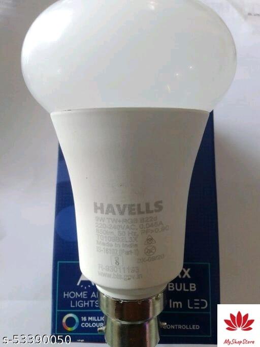 Stylish Light Bulbs Aluminium LED Bulbs